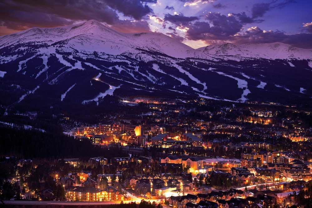 Print advertising still thrives in America's top mountain resort towns.